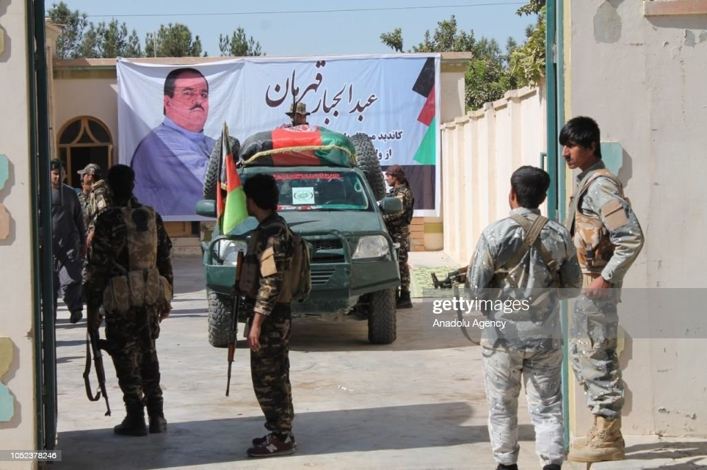 Blast kills prominent Afghan politician in Helmand : News Photo