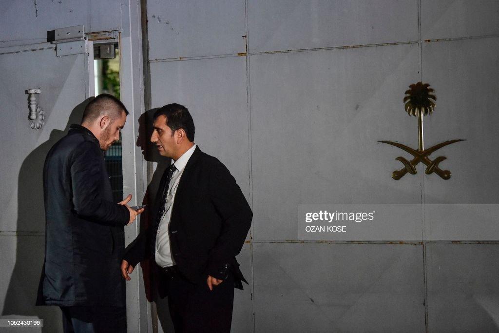 TURKEY-SAUDI-US-POLITICS-MEDIA-INVESTIGATION : News Photo