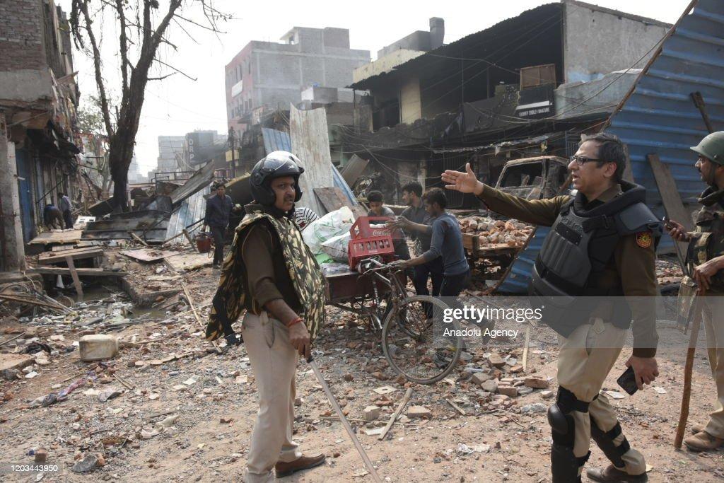 Clashes in Delhi : News Photo