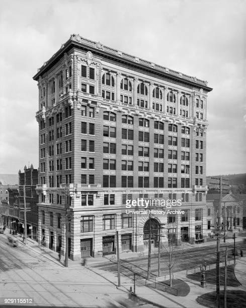 Security Mutual Life Insurance Company building, Binghamton, New York, USA, Detroit Publishing Company, 1905.