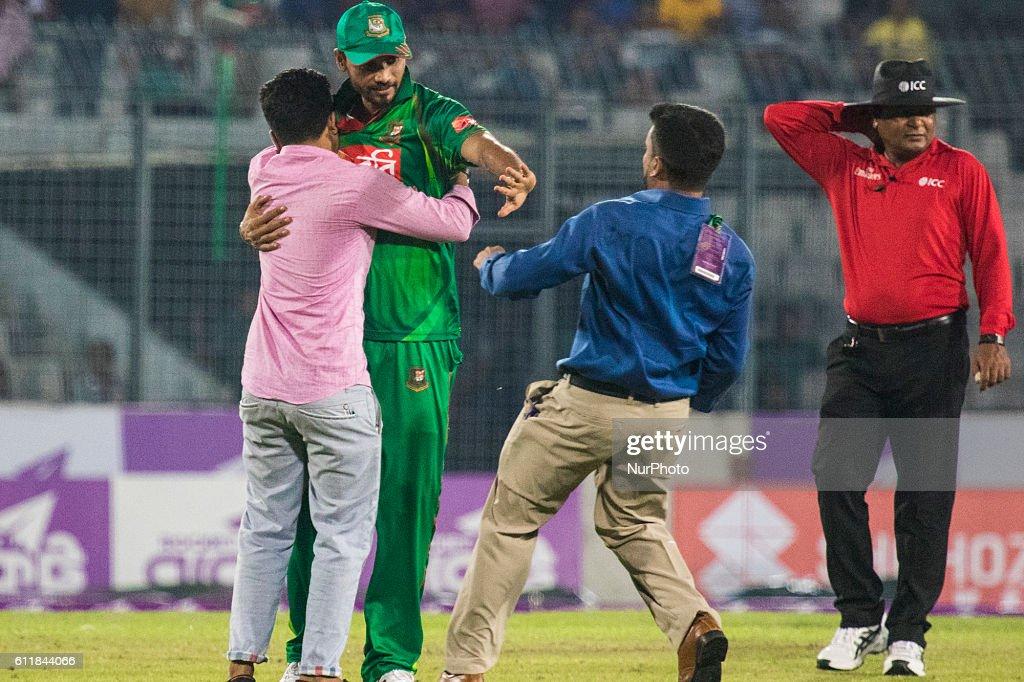 Bangladesh v Afghanistan - third one day international (ODI) cricket : News Photo