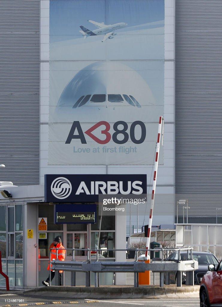 GBR: Airbus SE Scraps A380 Superjumbo Jet Production