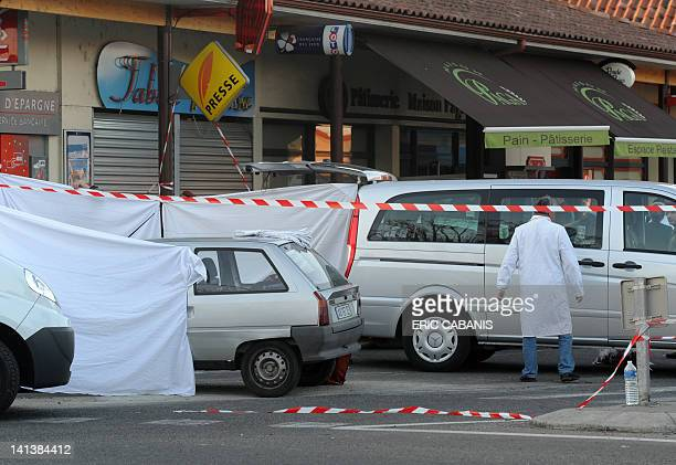 A security perimeter has been set on the site where two French soldiers were killed and a third one seriously injured in a driveby shooting near a...
