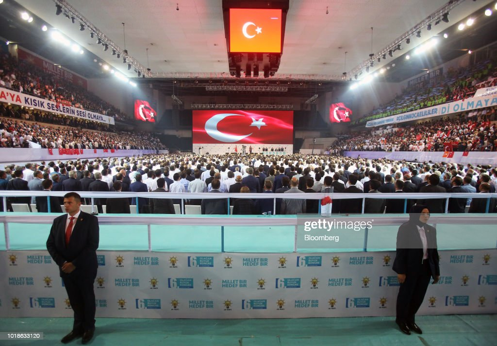 Turkey's President Recep Tayyip Erdogan Speaks At Congress