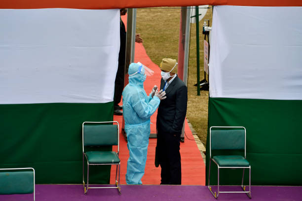 IND: Full Dress Rehearsal For Republic Day Parade 2021