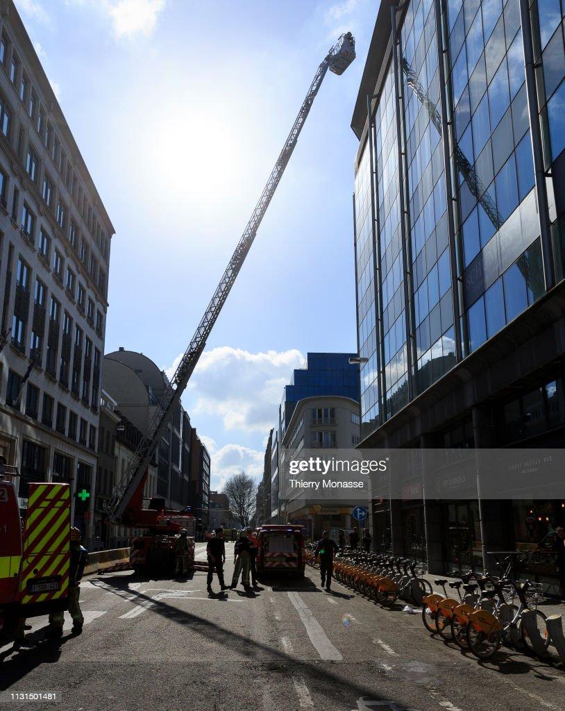BEL: Belgian Police Evacuate EU Buildings After Bomb Alert