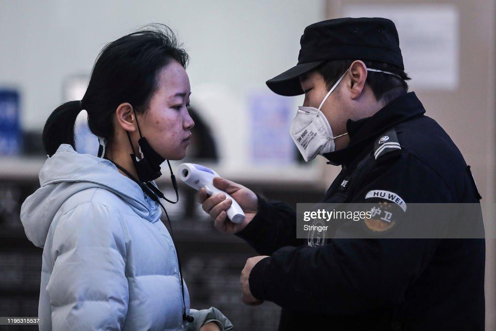 Coronavirus Pneumonia Outbreaks In China : ニュース写真