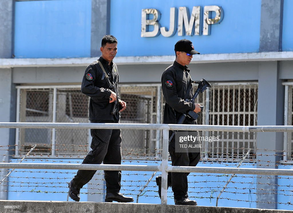 security personnel of the bureau of jail news photo