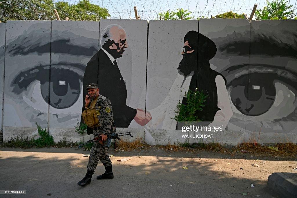 TOPSHOT-AFGHANISTAN-CONFLICT-CEASEFIRE-RELIGION : Foto di attualità
