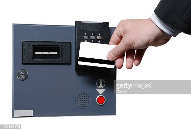 Security protocol cardkey and slot