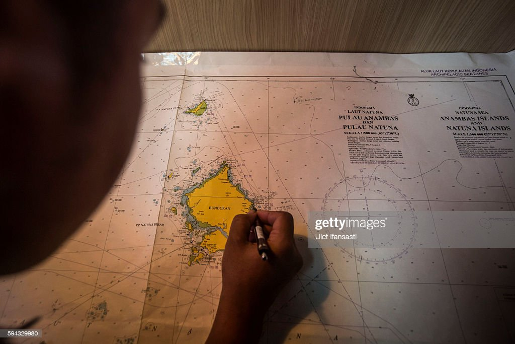 Indonesia Seeks Sovereignty Over Natuna Islands At The South China Sea : News Photo