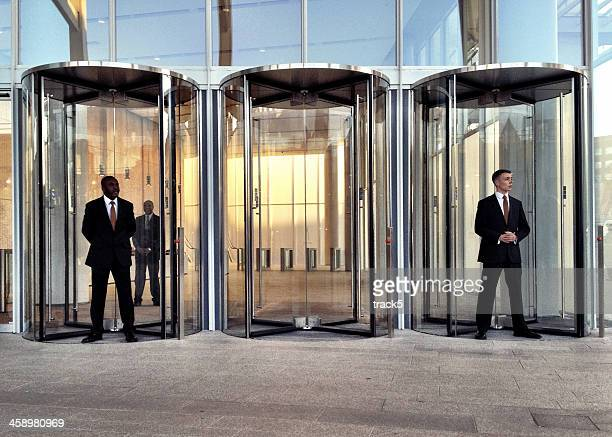 security staff at the shard, london. - guarding stock photos and pictures