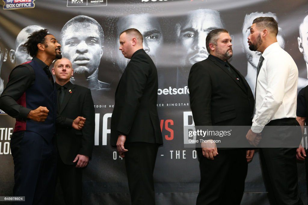 David Haye vs Tony Bellew Press Conference