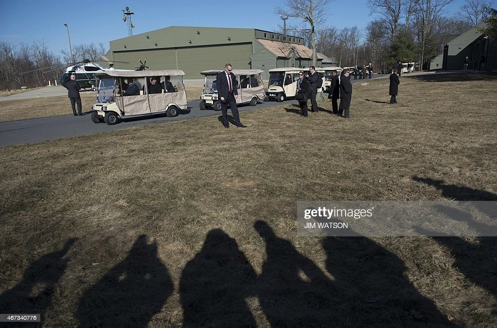 US-AFGHANISTAN-CAMP DAVID : News Photo