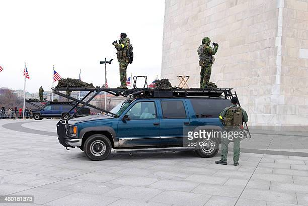 FBI security teams deployed for Presidential Inauguration