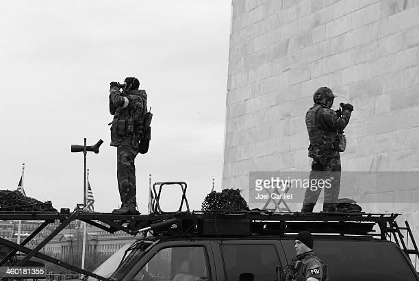 FBI security teams in Washington DC