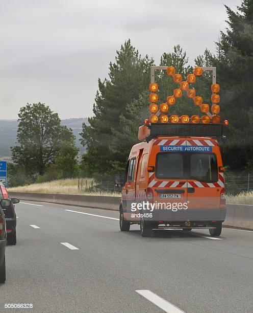 Sécurité du véhicule sur l'autoroute en France