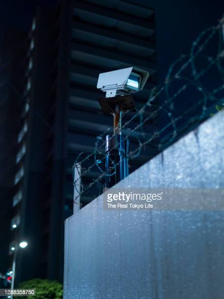 security_camera_p1013626 - business security camera stock pictures, royalty-free photos & images