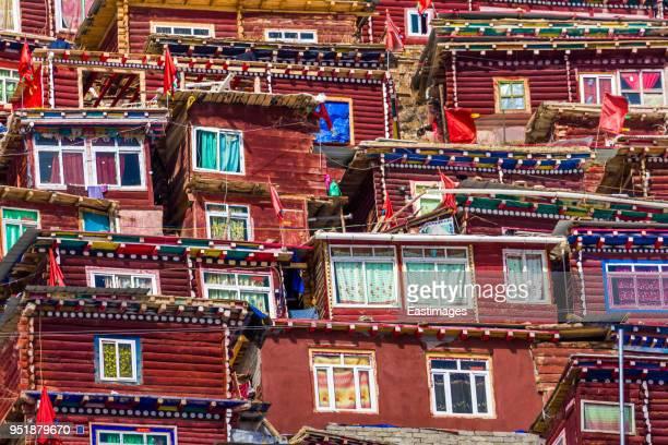 Seda Wuming Tibetan Buddhist Institute,Sichuan,China.