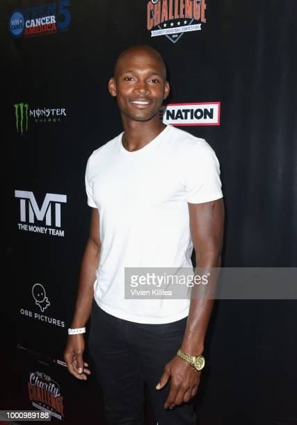 Sedale Threatt Jr attends 50K Charity Challenge Celebrity Basketball Game at UCLA's Pauley Pavilion on July 17 2018 in Westwood California