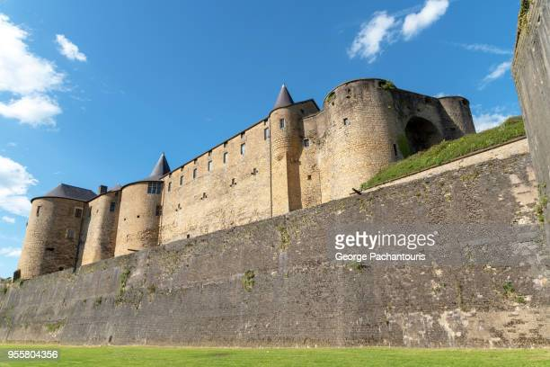 sedan castle, france - ardennes department france stock photos and pictures
