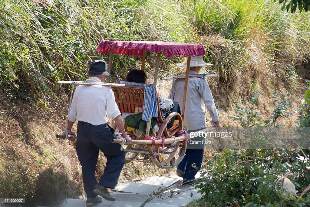 Sedan chair : Stock Photo