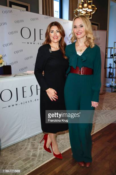 Sedef Ayguen and Anne Meyer-Minnemann during the Titanic Hotel and DKMS Life Christmas Charity Ladies Lunch on November 25, 2019 in Berlin, Germany.