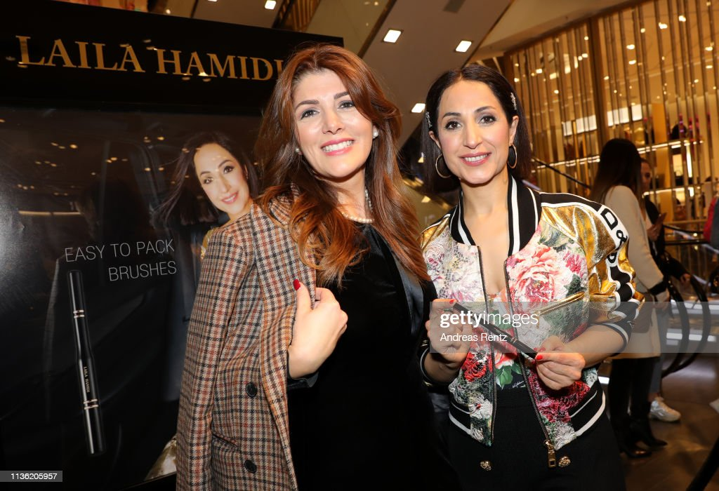 DEU: Laila Hamidi Launches 'Easy to pack brushes'