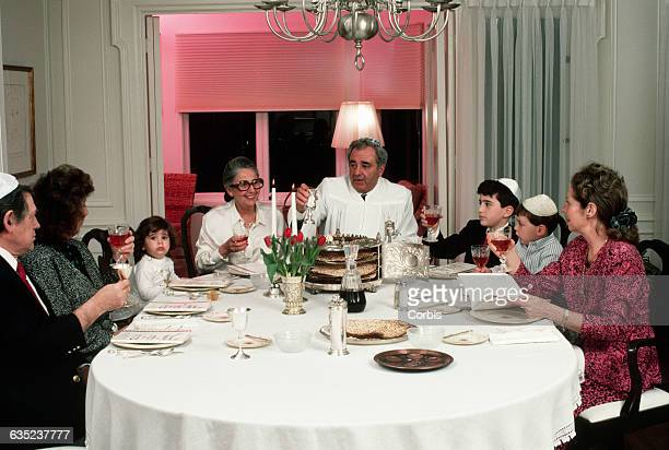 Seder is a feast celebrated on the first two nights of Passover a holiday commemorating the Jews' exodus from Egypt
