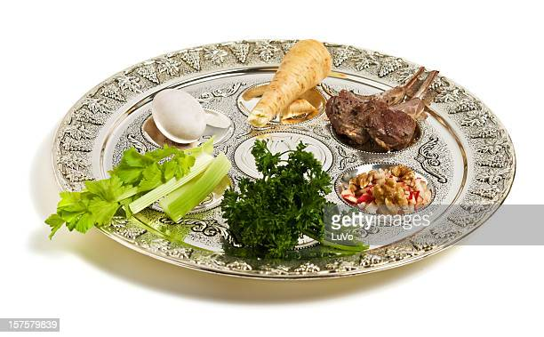seder plate - happy passover stock pictures, royalty-free photos & images
