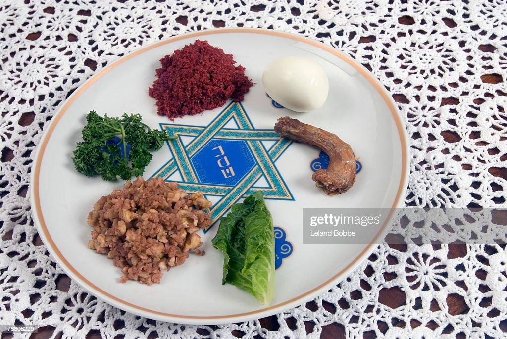Seder Plate : Stock Photo