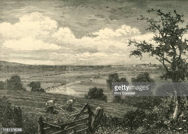 Sedgemoor from Middlezoy' 1898 Sedgemoor is part of the area now known as the Somerset Levels and Moors Historically known as the site of the Battle...