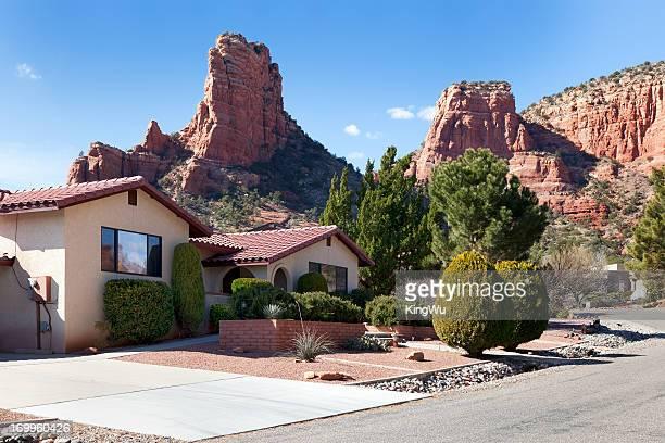 sedona residence, arizona - arizona stock pictures, royalty-free photos & images