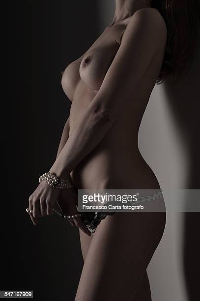 seduction - bound woman stock photos and pictures