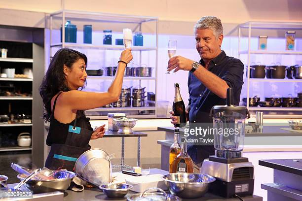 THE TASTE Seduction The battle to make it to the finals begins as seven semifinalists must seduce the taste buds of mentors Bourdain Lawson Lefebvre...