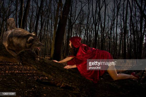 Seductive Red Riding Hood
