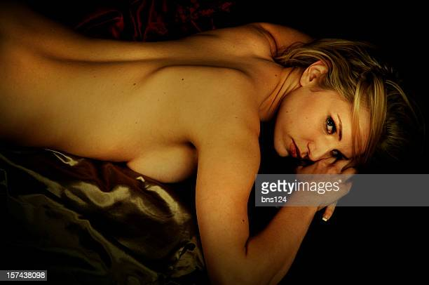seductive woman - cute blonde women stock photos and pictures