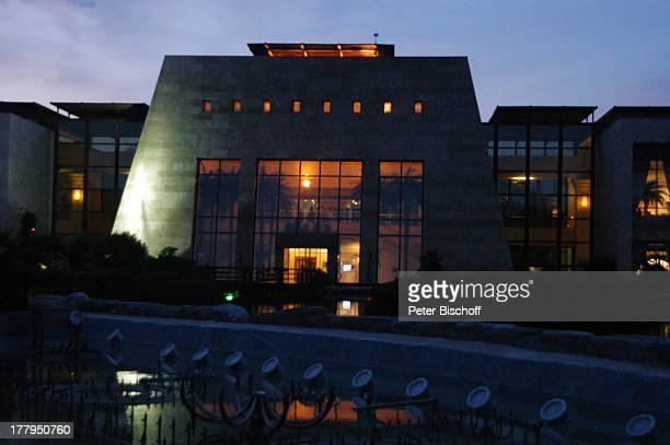 """See bei Dämmerung, 7-Sterne-Hotel """"Rixos Premium"""", Belek , Türkei, Europa, Reise,"""