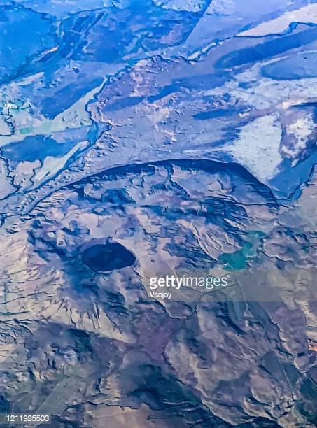 see iceland from the sky v - vsojoy stock pictures, royalty-free photos & images