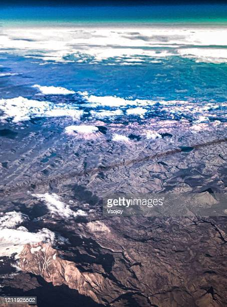 see iceland from the sky vi - vsojoy stock pictures, royalty-free photos & images