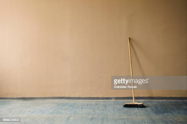 i see it needs sweeping - broom stock pictures, royalty-free photos & images