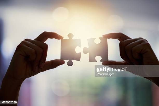 see the bigger picture - two objects stock photos and pictures
