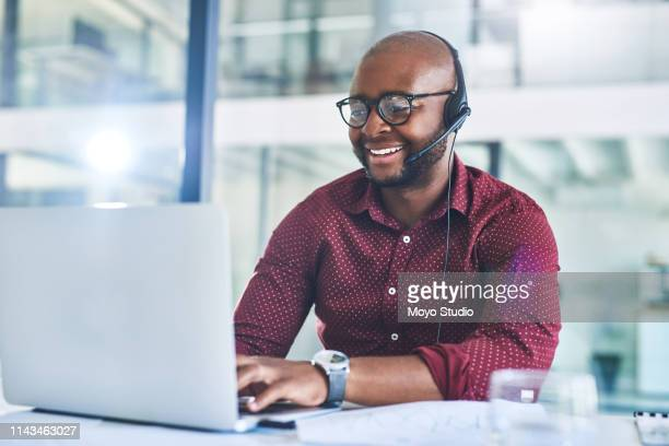 i see the problem and fixing it as we speak - headset stock pictures, royalty-free photos & images