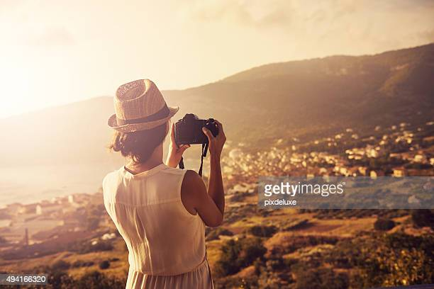 see the world - rear view photos stock photos and pictures