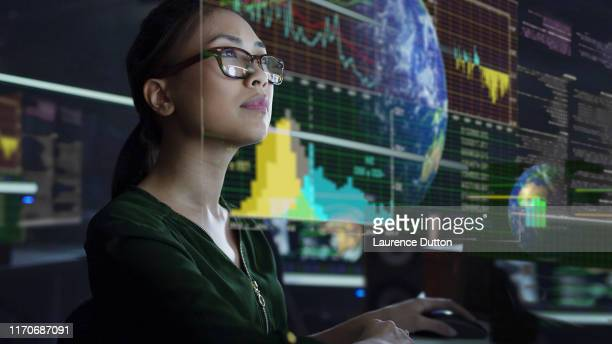 see through screen - analysing stock pictures, royalty-free photos & images