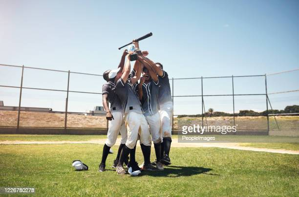 see what happens when you play as a team? - baseball team stock pictures, royalty-free photos & images