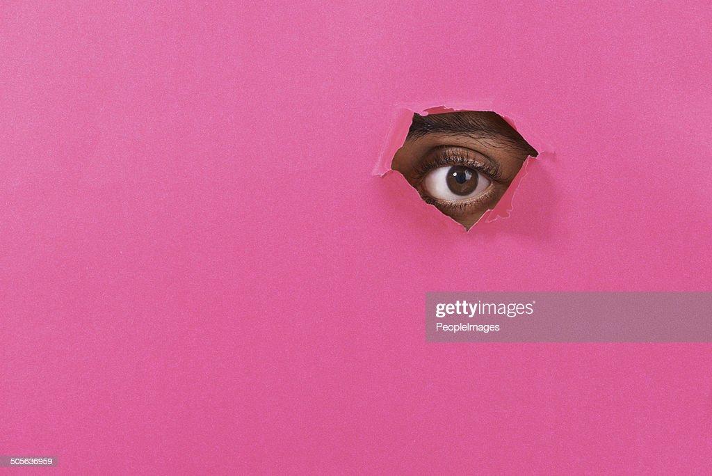 Vedo che! : Foto stock