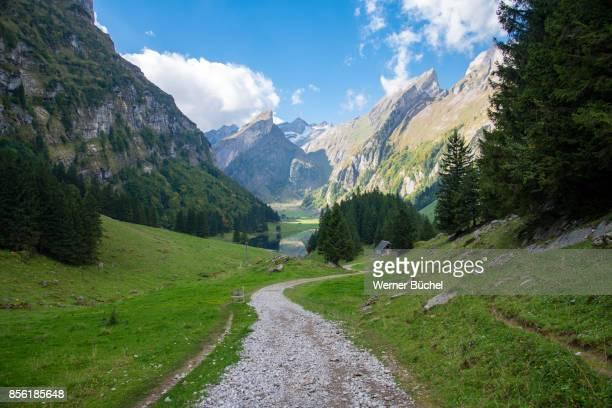 Seealpsee in den Schweizer Bergen