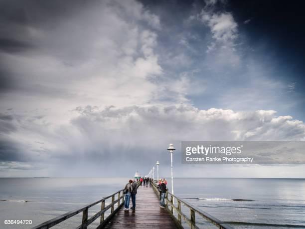 seebrücke, zinnowitz - ウセドム ストックフォトと画像