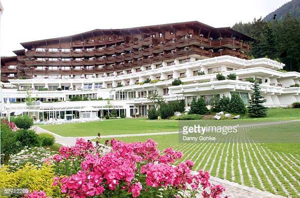 1 BUNDESLIGA 02/03 Seefeld HAMBURGER SV/TRAININGSLAGER HSV Unterkunft in Seefeld Hotel'VITAL ROYAL DORINT '